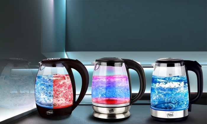 Neo LED Illuminated Kettle | Electric