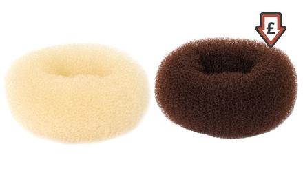 Pack de 2 o 4 donuts de 80 mm para el pelo