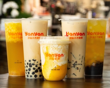 Beverages at Yanyan Tea, Dine-In or Carryout (Up to 25% Off). Two Options Available.