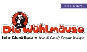Berliner Kabarett Die Wühlmäuse: Kabarettabend nach Wahl im April im Kabarett Die Wühlmäuse (bis zu 51% sparen)