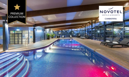 Canberra: 1 Night for Two People with a Bottle of Wine and Late Check-Out at Novotel Canberra