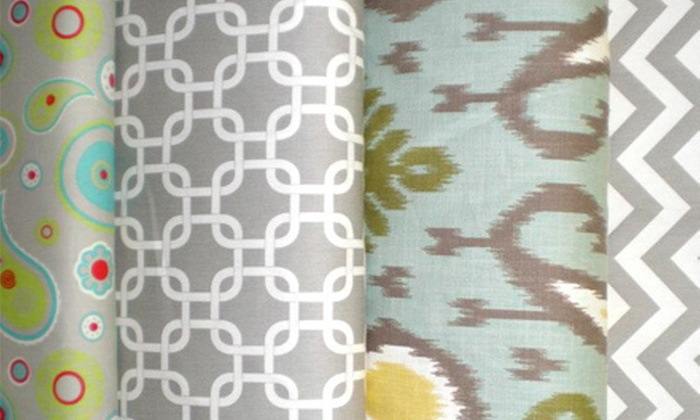 Not Just Fabrics - Ashley Hall Manor: $25 for $50 Worth of Fabric and Home Accessories at Not Just Fabrics