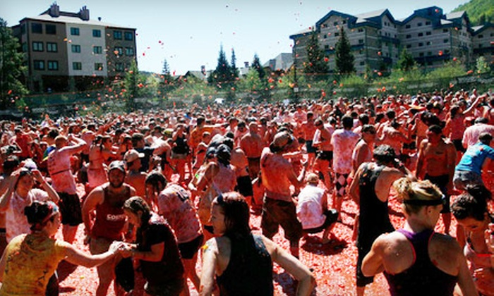 Tomato Battle - SoDo: $30 for a Ticket Including One Beer to the Seattle Tomato Battle at Pyramid Alehouse & Restaurant on September 24 at Noon (Up to $60.98 Value)
