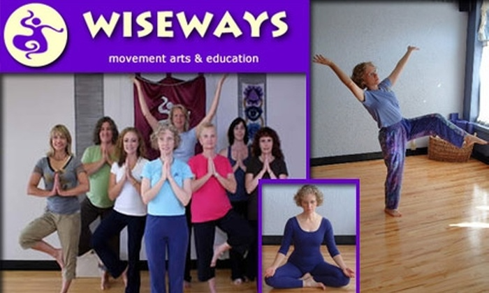 WiseWays - Grandview Heights: $30 for Unlimited Month of Yoga and Tai Chi Classes at WiseWays ($69 Value)