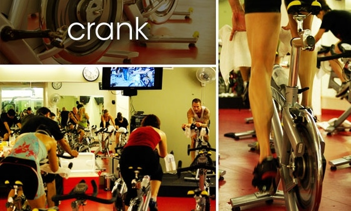 Crank Cycling - Core-Columbia: Five Cycling Classes at Crank Indoor Cycling Studio