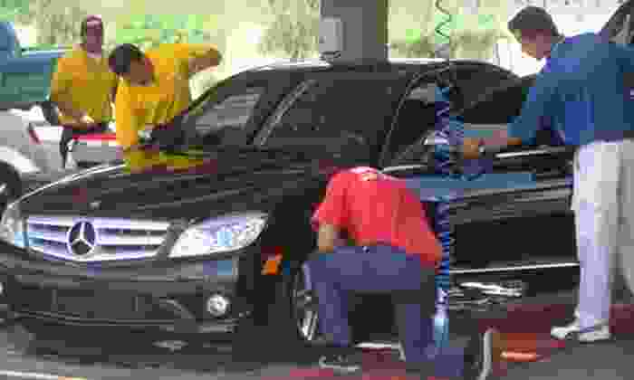 Super Star Car Wash - Multiple Locations: $19 for Three Months of Unlimited Express Car Washes at Super Star Car Wash ($45 Value)