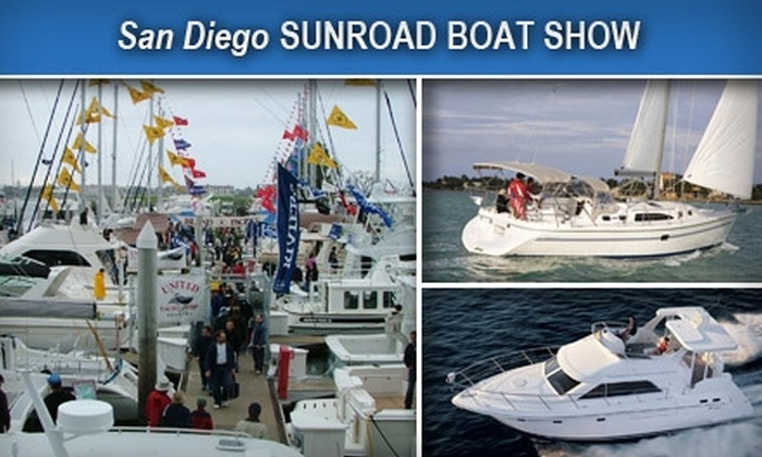 Sunroad Boat Show - Midway District: $10 for Two Tickets to the Sunroad Boat Show at Sunroad Marina