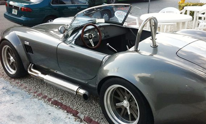 Imagine Lifestyles - Allapattah: $129 for a One-Hour Driving Experience in a Vintage Shelby or Porsche 550 Spyder from Imagine Lifestyles