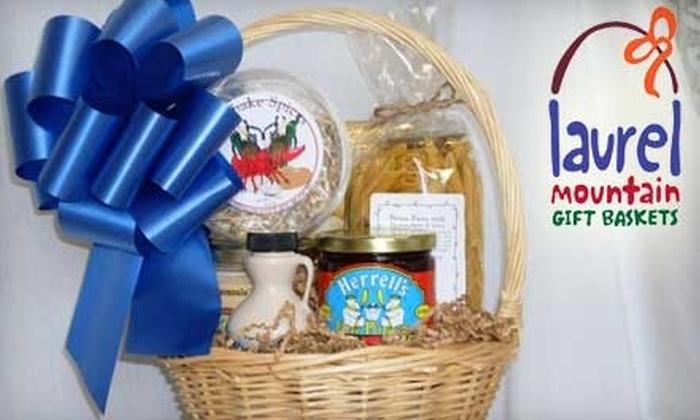 Laurel Mountain Gift Baskets - Easthampton: $25 for $50 Toward Gift Baskets at Laurel Mountain Gift Baskets