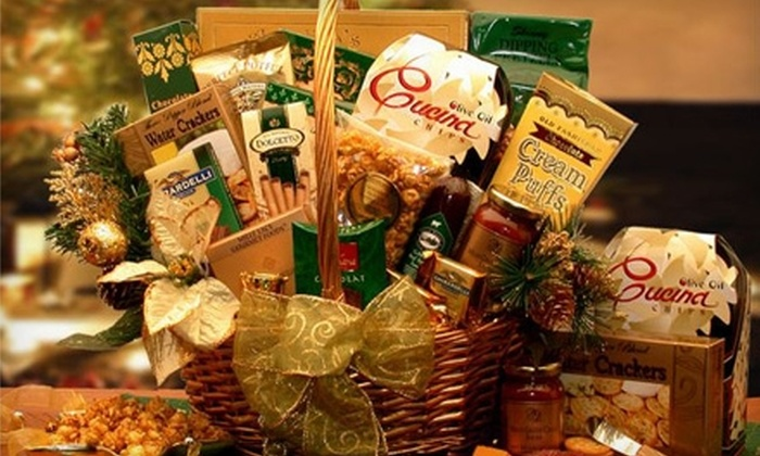 Gift Basket Co.: $20 for $50 Toward Delivered Gift Baskets, with Shipping Included, from Gift Basket Co.
