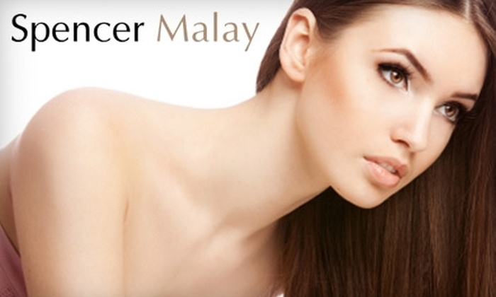 Spencer Malay Hair and Med Spa - Lindridge - Martin Manor: Keratin Hair Treatment or Your Choice of a 60-Minute Massage or Facial at Spencer Malay Hair and Med Spa in Buckhead. Choose Between Two Options.