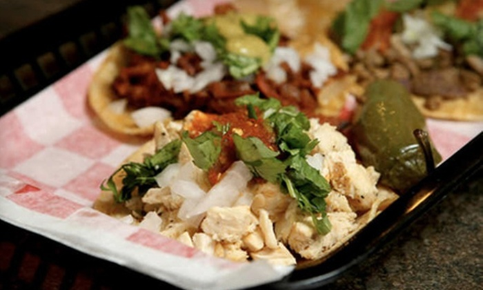 The Taco Spot - Arlington: Authentic Mexican Street Fare at The Taco Spot in Arlington. Two Options Available.