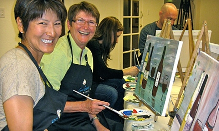Carrie Curran Art Studios - Central Scottsdale: $45 for a BYOB Art Class for Two at Carrie Curran Art Studios in Scottsdale (Up to $90 Value)