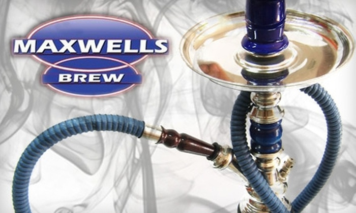 Maxwells Brew - Ottawa: $5 for $10 Worth of Coffee, Deli Fare, Hookah, and More at Maxwells Brew