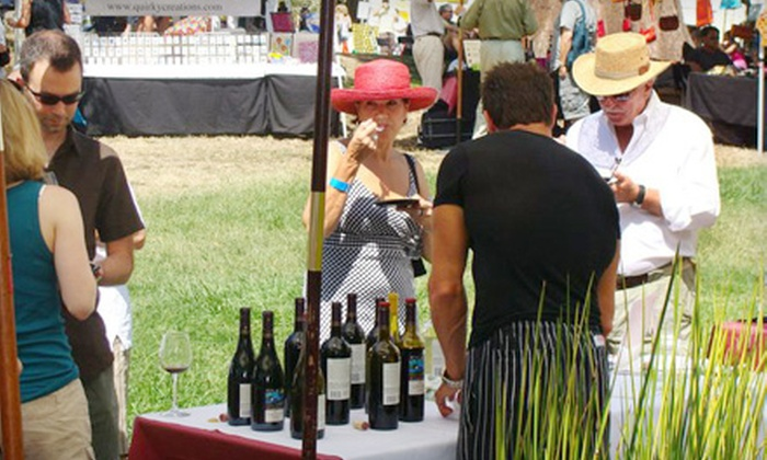San Rafael Food & Wine Festival - Cow Hollow: $25 for Two Tasting Wristbands to the San Rafael Food & Wine Festival ($50 Value)