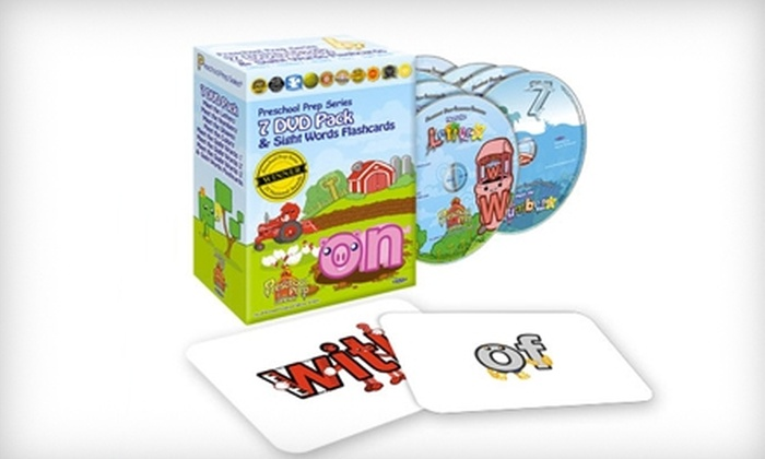 Preschool Prep Company: $49 for a Seven-DVD Box Set with Flashcards from Preschool Prep Company ($99.95 Value)