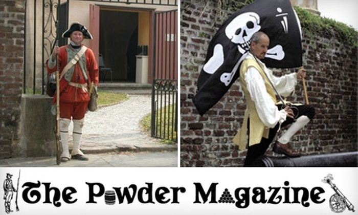 "The Powder Magazine - French Quarter: $6 for ""The Gentleman Pirate"" Show and Admission to The Powder Magazine Museum ($15 Value)"