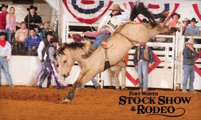 Fort Worth Stock Show & Rodeo - Cultural District: Half Off Admission for One to the Fort Worth Stock Show & Rodeo (Up to $22 value). Choose from Six Dates.
