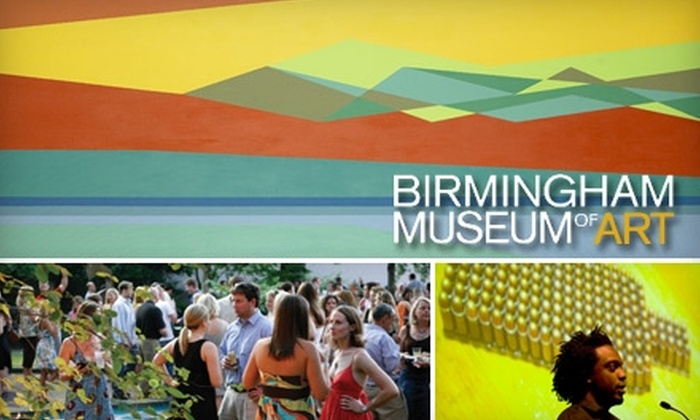 Birmingham Museum of Art - Central City: One-Year Membership to Birmingham Museum of Art. Choose from Two Options.