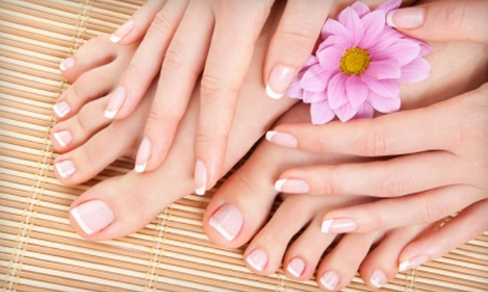 Studio Eclipse Hair & Nails - Fort Wayne: $25 for a Manicure and Pedicure at Studio Eclipse Hair & Nails ($50 Value)