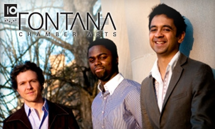 Fontana Chamber Arts - Western Michigan University/KRPH: $35 for Two Zone One Tickets (Up to $70 Value) or $28 for Two Zone Two Tickets (Up to $56 Value) to the Vijay Iyer Trio on February 11 from Fontana Chamber Arts