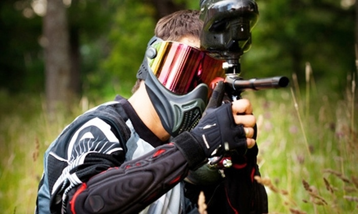 Paintball USA - Agua Dulce: $20 for Paintball Package at Paintball USA in Santa Clarita (Up to $55 Value)
