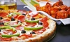 Back East Pizza & Wings - Powers: Pizza Meal with Wings and Soda at Back East Pizza & Wings (51% Off)