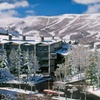 Park City Lodge Near Snow-Covered Slopes
