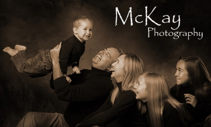 McKay Photography - South El Dorado: Photography Session and Portrait at McKay Photography in El Dorado Hills. Choose from Three Options.