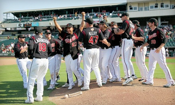 Sacramento River Cats - Triangle: One Ticket to a Sacramento River Cats PCL Championship Series Game at Raley Field in West Sacramento on September 16. Four Options Available.