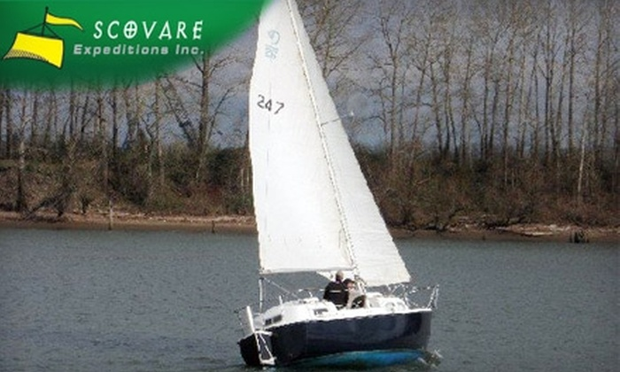 Scovare Expeditions - Corbet - Terwilliger - Lair Hill: $48 for a 90-Minute Sailing Tour for Two People from Scovare Expeditions (Up to $120 Value)