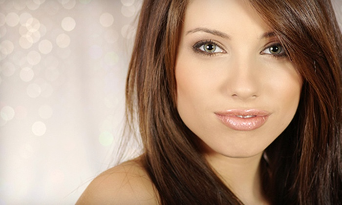 Salon C - Soulard: $75 for a Haircare Package with Eyebrow Waxing at Salon C (Up to $152 Value)
