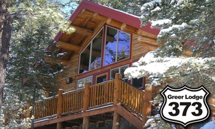 Greer Lodge Resort & Cabins - Eagar-Springerville: $399 for Two-Night Stay in a Romantic Log Cabin on the River at Greer Lodge Resort & Cabins