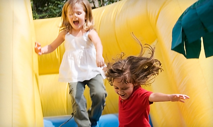 The Big Bounce - New Hope Business Park: Four Weekday or Two Weekend Open-Play Passes at The Big Bounce in Cedar Park (Up to 55% Off)