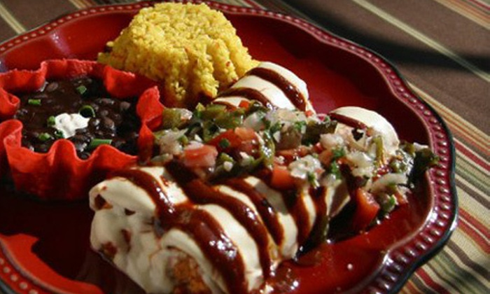 Corazon at Castle Hill - Old West Austin: $15 for $30 Worth of Mexican Fare at Corazon at Castle Hill