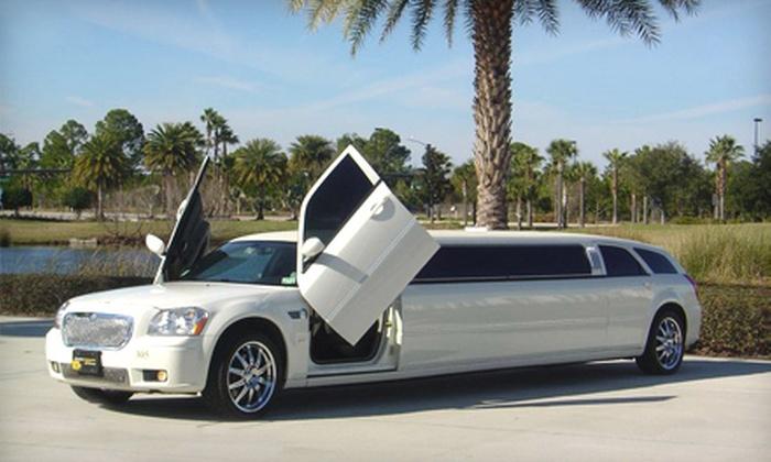 Sunshine Limousine - Florida Center: $50 for $100 Toward Transportation Services from Sunshine Limousine