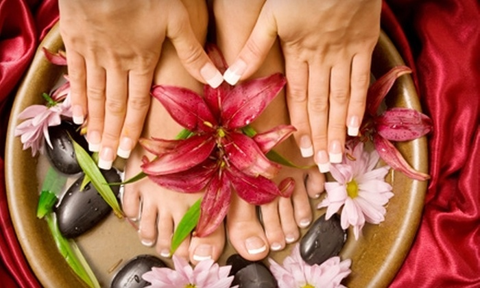 Citrin Spa & Wellness Center - West Loop: $30 for a Classic Mani-Pedi at Citrin Spa & Wellness Center ($60 Value)