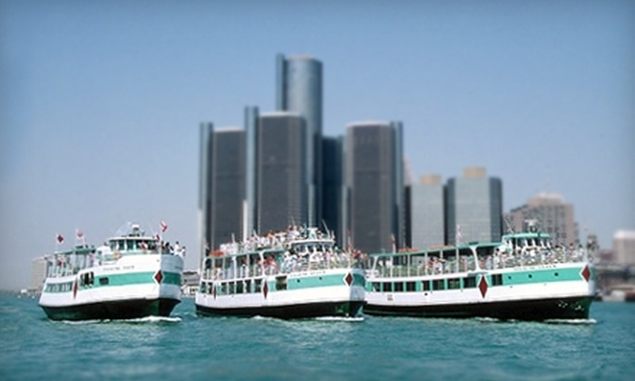 Diamond Jack's River Tours - Multiple Locations: $8 for a Two-Hour Detroit River Tour from Diamond Jack's River Tours (Up to $17 Value)