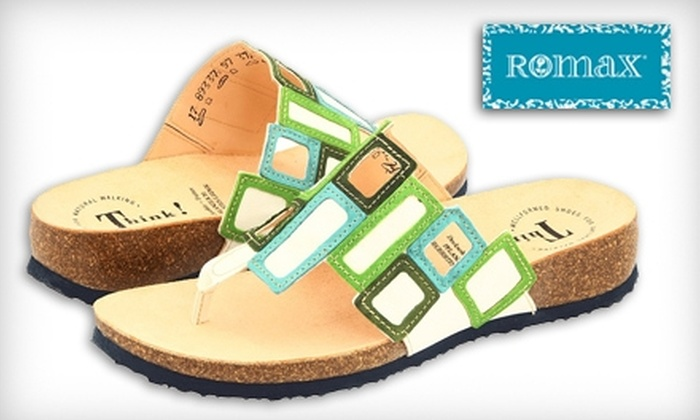 Romax - Multiple Locations: $35 for $80 Worth of American and European Comfort Shoes at Romax