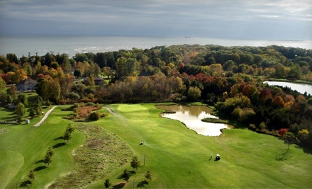 18 Holes of Golf for Two, Cart and Medium Bucket of Range Balls - Whisky Run Golf Club in Port Colborne