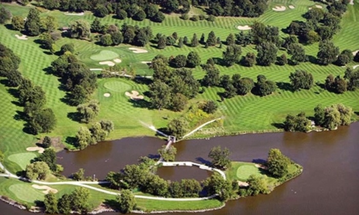 Pottawatomie Golf Course - St. Charles: 9-Hole Round of Golf with Drinks and Hot Dogs for Two or Four at Pottawatomie Golf Course in St. Charles (Up to 55% Off)