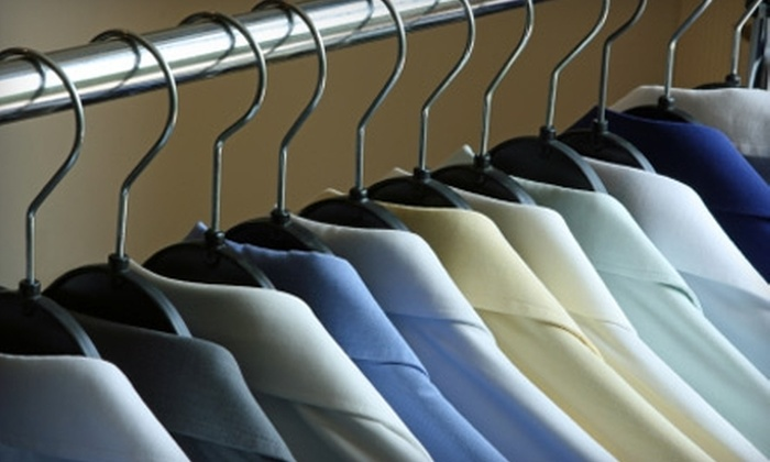 Thrifty Dry Cleaners Inc - Multiple Locations: $7 for $14 Worth of Dry-Cleaning Services at Thrifty Dry Cleaners Inc