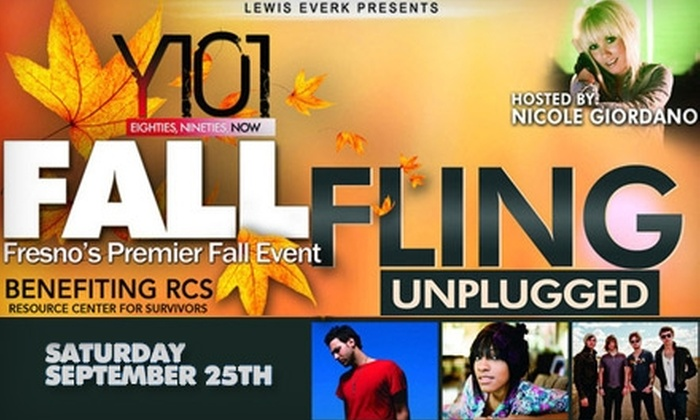 Y101 Fall Fling Unplugged 2010 - Woodward Park: $10 Ticket to Y101 Fall Fling Unplugged 2010 Food, Fashion, and Music Event on Saturday, September 25