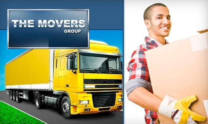 The Movers Group - Miami: $44 for One Hour of Moving and Two Wardrobe Boxes from The Movers Group ($173 Value)