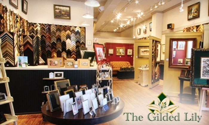 The Gilded Lily-Fine Custom Framing - Monroe: $40 for $100 Worth of Custom Framing at The Gilded Lily-Fine Custom Framing in Monroe