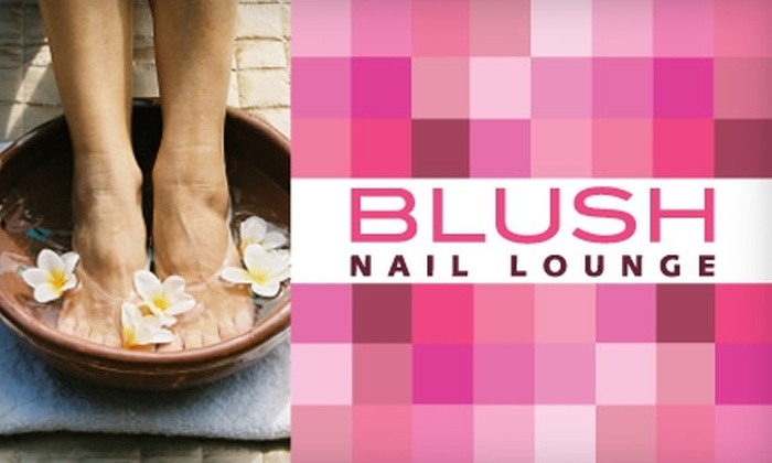 Blush Nail Lounge - Bowery: $29 for a Manicure and Seasonal Spa Pedicure at Blush Nail Lounge ($57 Value)