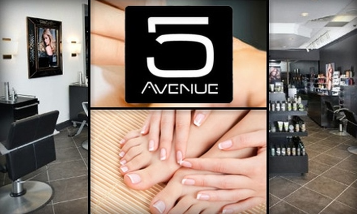 Fifth Avenue Salon - Hurstbourne: $35 Mani-Pedi Plus 20% Off One Service on Your Next Visit at Fifth Avenue Salon ($75 Value)