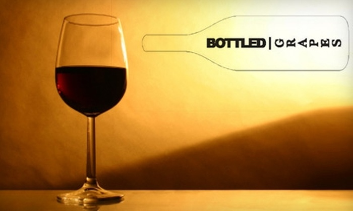 Bottled Grapes - Multiple Locations: $35 for a Wine and Food Pairing Class for Two from Bottled Grapes ($70 Value)