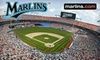 Florida Marlins - Miami Gardens: Tickets to a Florida Marlins Game. Three Dates Available.