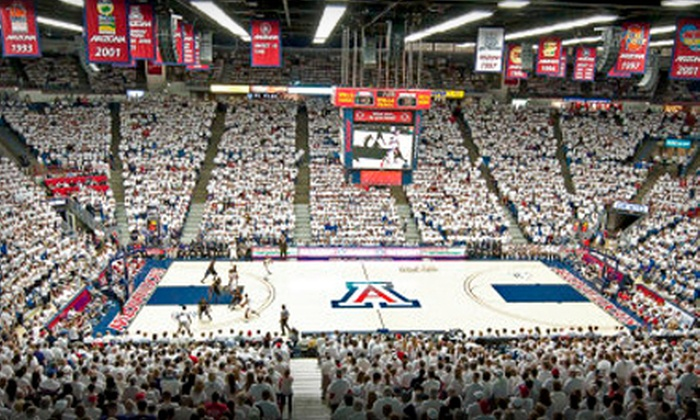 University of Arizona Wildcats - Ward 6: $8 for a Basketball Outing for Two to the Red-Blue Men's Game at the University of Arizona (Up to $20 Value)